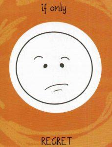 Mood cards 'Regret'