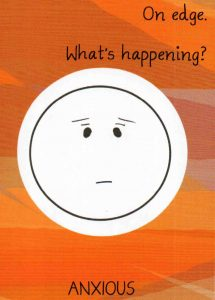 Mood Card - 'Anxious'