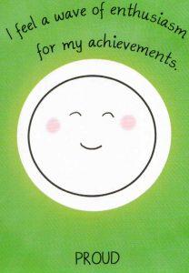 'Proud' Mood Card